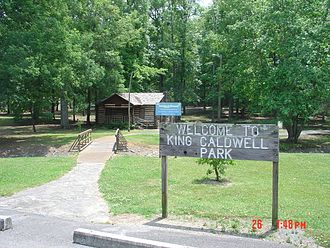 Scottsboro, Alabama - King Caldwell Park in Scottsboro
