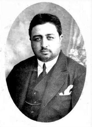 Inayatullah Khan - Portrait of Inayatuallah Khan, 1929