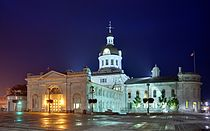 Kingston - ON - Town hall at night.jpg