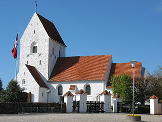 Bjerringbro town in Denmark