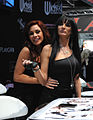 Kirsten Price and Alektra Blue at AVN Adult Entertainment Expo 2011.jpg
