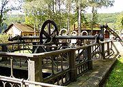 Brine pump of 1848 in Bad Kissingen (Germany)