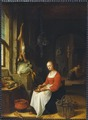 Kitchen Scene (Jan Adriaensz van Staveren) - Nationalmuseum - 17647.tif