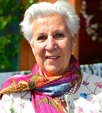 Kjerstin Dellert - Image: Kjerstin Dellert i Allsång på Skansen 2013
