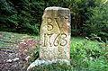 Klagenfurt Viktring Opferholz Grenzstein BV 1763 07082007 01.jpg