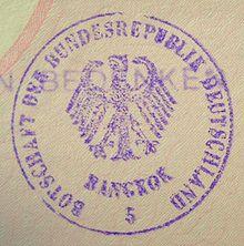 Deutsche botschaft bangkok visum
