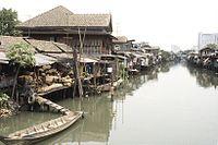 Canales en Bangkok