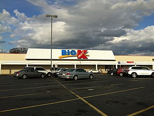 U.S. Route 25 in Georgia - Kmart store on Gordon Highway in Augusta