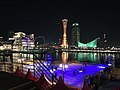 Kobe Port Tower and Harborland at night 20190202-3.jpg