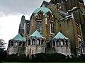 Koekelberg Basilique Nationale Sacré-Coeur Querschiff 3.jpg