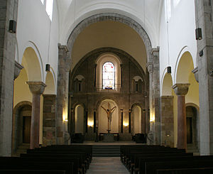 St. George's Church, Cologne - Interior of St Georg's Church