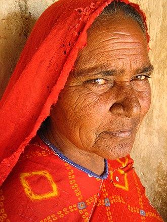 Koli people - Koli woman from Nirona, Gujarat