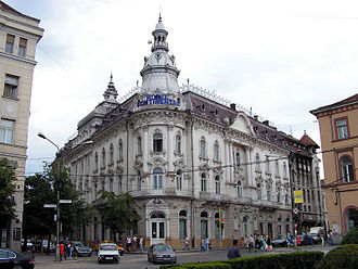 Cluj-Napoca - The New York Palace, nowadays the Continental Hotel