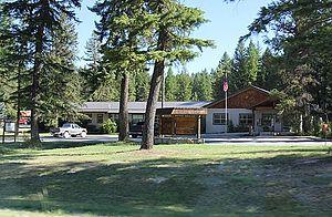 Kootenai National Forest - Ranger station at Murphy Lake
