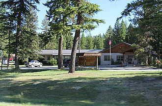 Kootenai National Forest - Ranger station at Murphy Lake