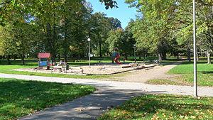 Kopli cemetery - Image: Kopli park 005