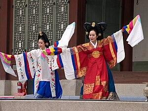 Taepyeongmu (태평무), a Korean royal court dance