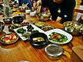 Korean cuisine-Banchan and doenjang jjigae-02.jpg