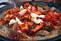 Korean cuisine-Kkomjangeo bokkeum-01.jpg