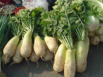 Korean radish - Image: Korean radish (mu)