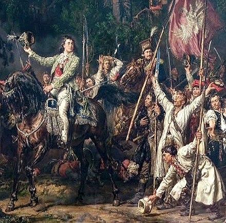 WOJSKO POLSKIE KOSCIUSZKI W 1794 R. (UNIFORMS OF THE POLISH ARMY ...