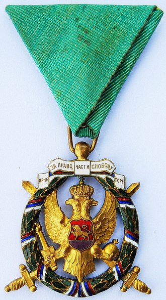 Greens (Montenegrin separatists) - Order of Freedom