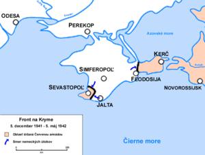 Boje na kryme od decembra 1941 do mája 1942