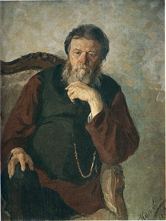 Ivan Kulikov - Portrait of his Father