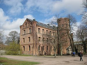 Lund University - Kungshuset, the oldest university building (completed 1584).