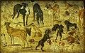 Kunsthistorisches Museum Wien, Jan Brueghel d.Ä., Tierstudie Hunde.JPG