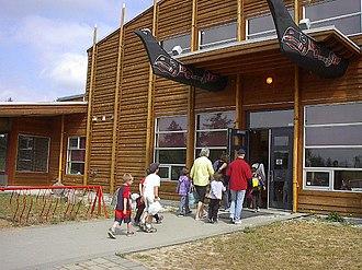 Penelakut Island - Image: Kuper Island School
