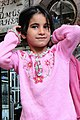 Kurdish Girl Strikes a Pose - Market in Hasan Pasa Hani - Diyarbakir - Turkey (5777861024).jpg