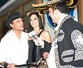 Kurt Lockwood, Presley Maddox, James Bartholet at Halloween Party 1.jpg
