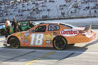 NASCAR Xfinity Series - 2009 Nationwide Series car of Monster Energy NASCAR Cup Series regular Kyle Busch, who won the Nationwide Series championship that year