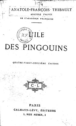 Image illustrative de l'article L'Île des Pingouins