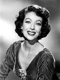 Loretta Young American actress