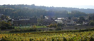 Dardagny - Image: La Plaine 20081018