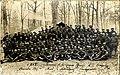 La 4e compagnie du 2e BCP dans l'Arboretum de Champenoux en décembre 1917.jpg