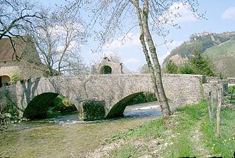 Seille (Saône) - Seille, in Nevy-sur-Seille.