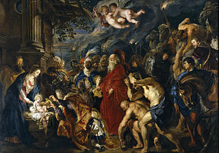 painting by Peter Paul Rubens in the Museo del Prado