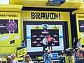 La course by Le Tour de France 2019 à Pau - Podium Marianne Vos - montre Tissot Tour de France.jpg