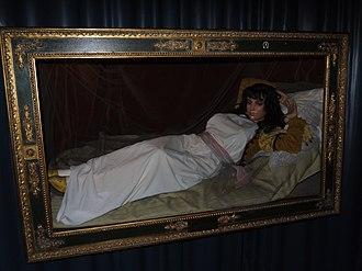 Wax Museum of Madrid - Image: La maja vestida en el Museo de Cera