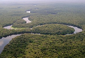 Iyaelima people - Lulilaka River in the Salonga National Park