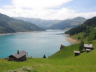 Cormet de Roselend mountain pass