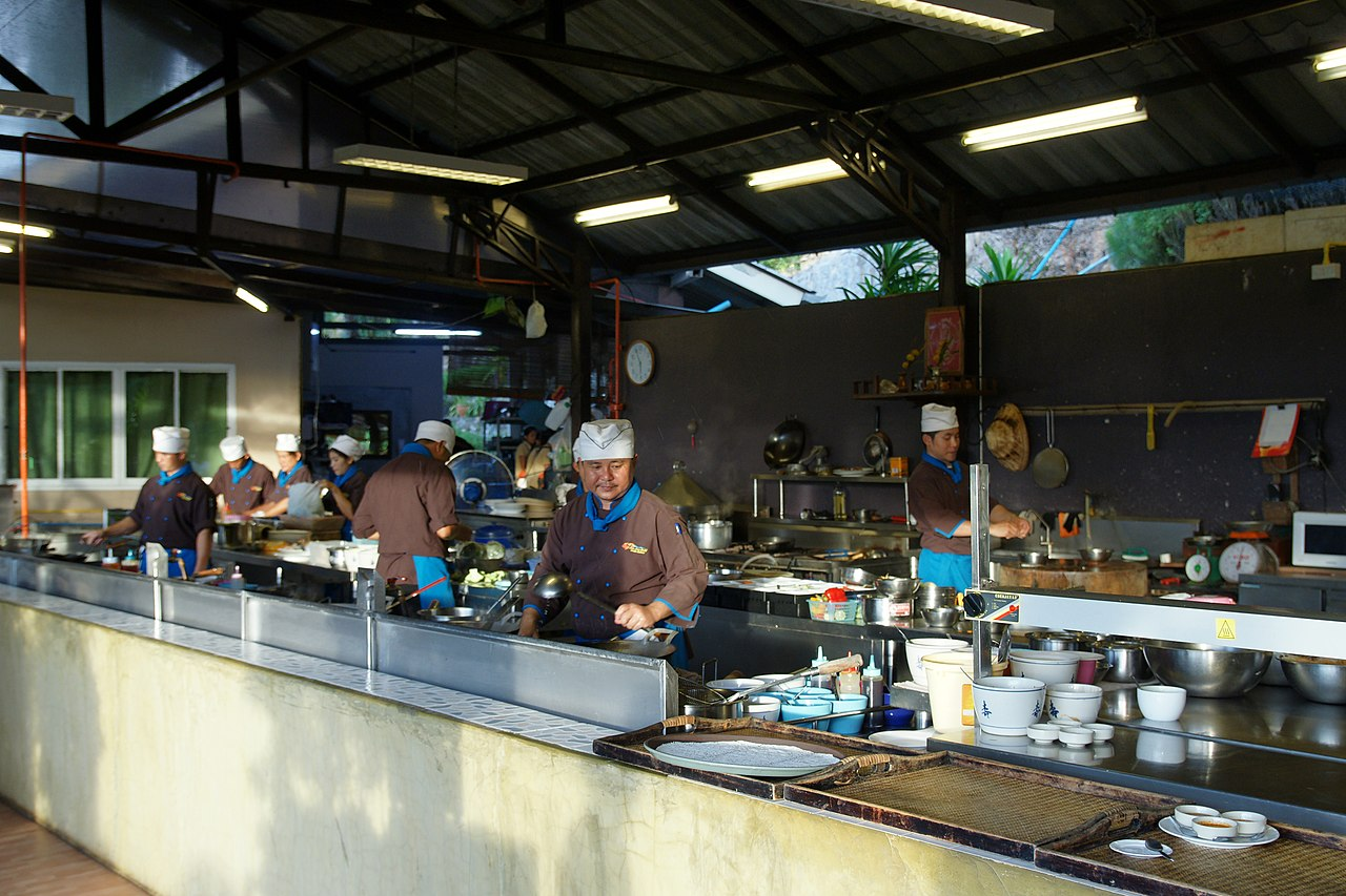 Restaurant Kitchen Grill file:lae lay grill restaurant - kitchen - wikimedia commons