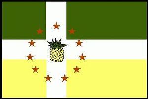 Lajas, Puerto Rico - Image: Lajas Flag