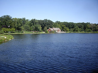 Glen Ellyn, Illinois - Lake Ellyn