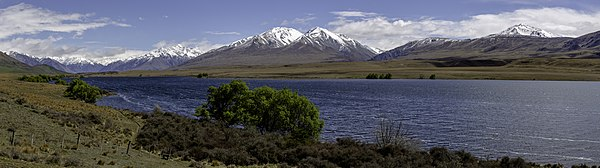 Lake Clearwater, Canterbury, New Zealand