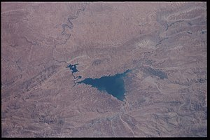Lake Dukan - Dukan reservoir, 2001
