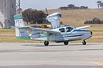 Lake LA-4-200 Buccaneer (VH-TZT) taxiing at Wagga Wagga Airport.jpg